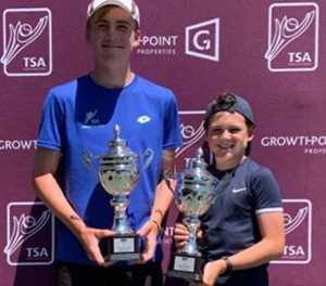 George tennis stars win big and small