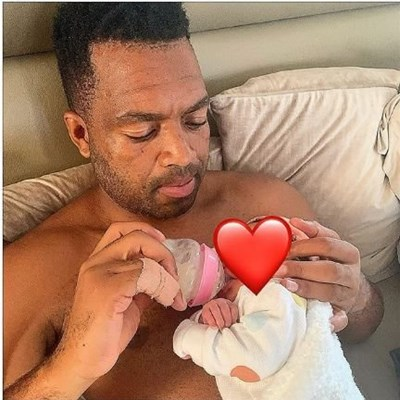 Khune warms social media with first picture of his baby