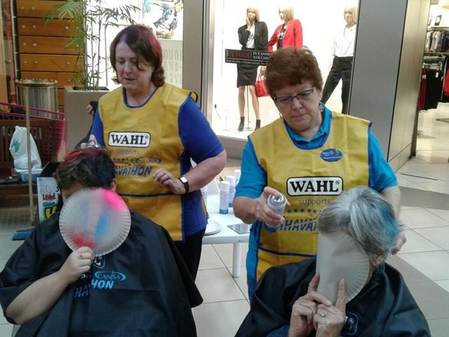 Knysna Mall is a buzz with Shavathon