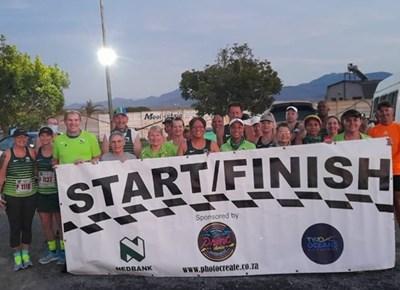 ASWD Nedbank-hardloopklub draf virtuele Twee Oseane kaf