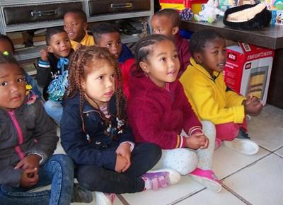 Sharlene's Educare children learn about creation