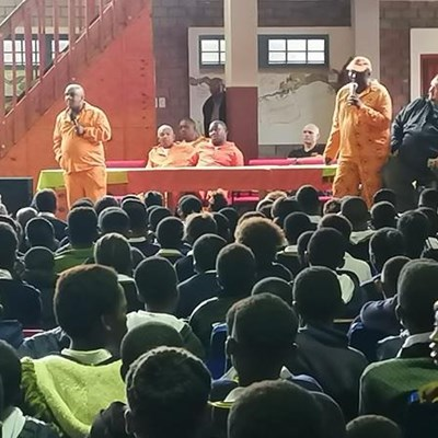 Ex-offenders tutor learners about life and choices