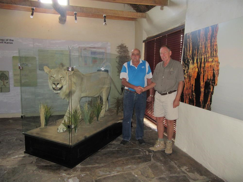 Honouring Sylvester the lion