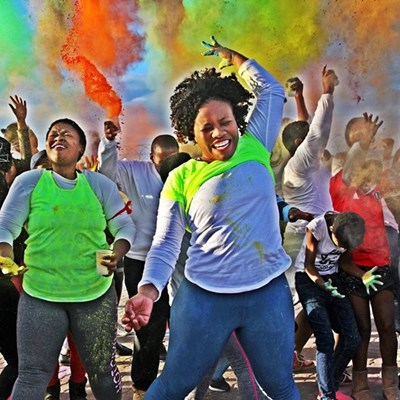 A colourful Youth Day in George