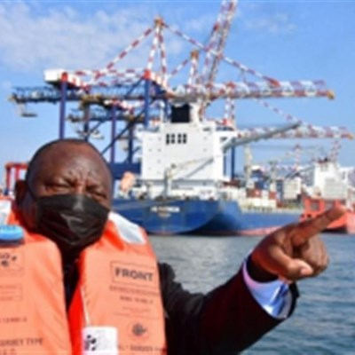 Ports Authority announced as independent subsidiary of Transnet