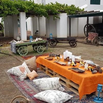 Karoo-kombuis plaas kollig op Graaff-Reinet