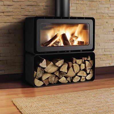 Importance of dry wood for closed combustion fireplaces