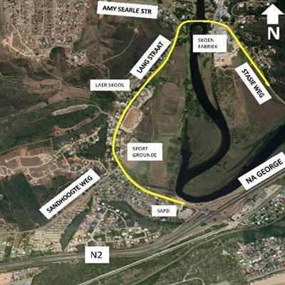 Rehabilitation of streets: Great-Brak River