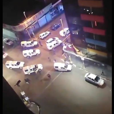 Joburg street party busted by cops