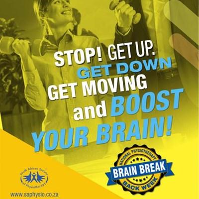 Be sure to take 'brain breaks'