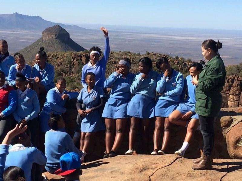 Graad 11-klas benut Nasionale Parkeweek