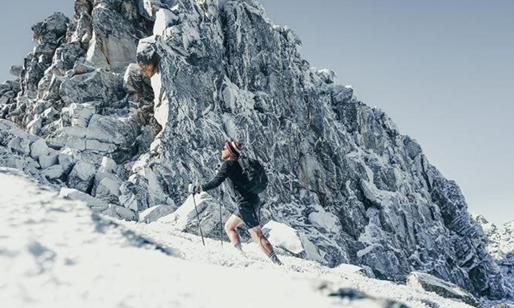 Climbing the highest peak in the Western Cape to see snow