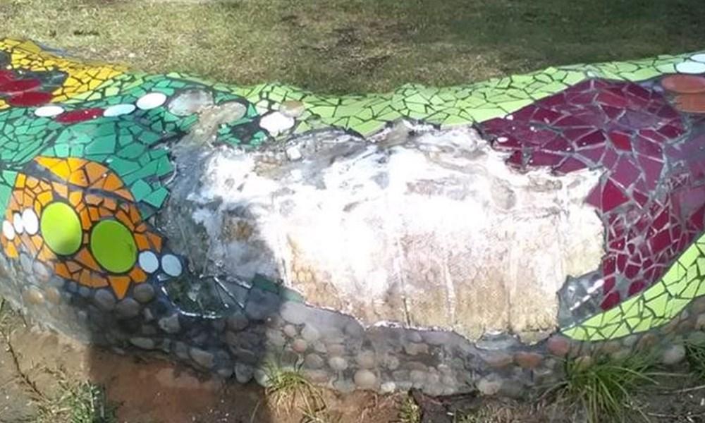 Octopus Garden vandalised