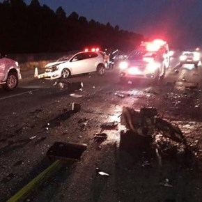 Woman killed, man injured in Free State car crash