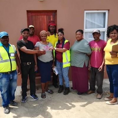 Thembalethu housing projects take shape