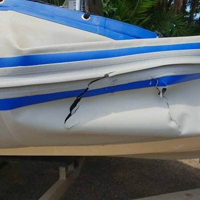 Shark attacks boat at Mtunzini