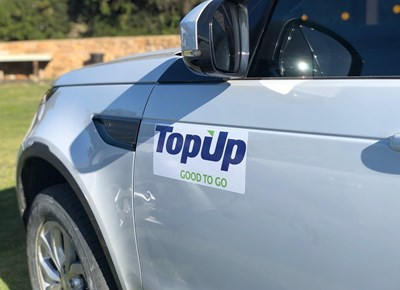 TopUp sponsors Leisure Wheels challenge