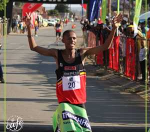 Athletes in race for spots in final SA cross country team