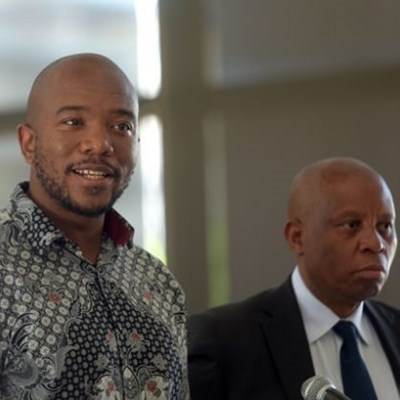 Maimane and Mashaba are recruiting small parties for their new 'movement'