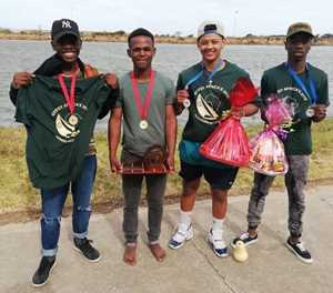 Knot a wind too strong for young Knysna sailors
