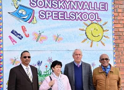 Speelskool open in Sonskynvallei