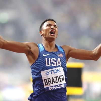Brazier builds on World Championship momentum with Millrose Games win