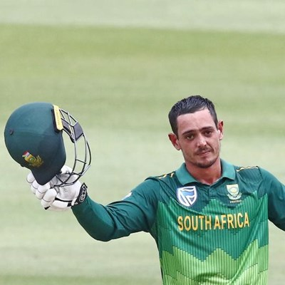 Ton-up De Kock leads from the front as South Africa thump England