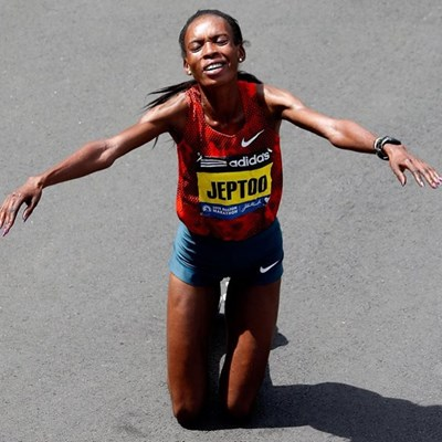 Disgraced Jeptoo back, urges athletes to take responsibility
