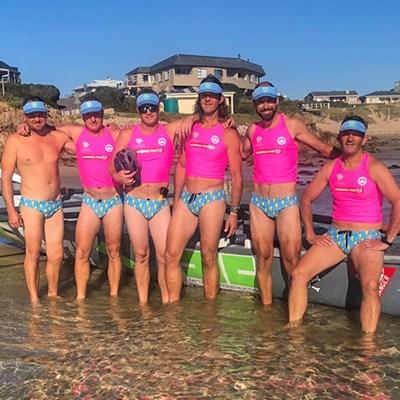 Surfboat warriors make waves