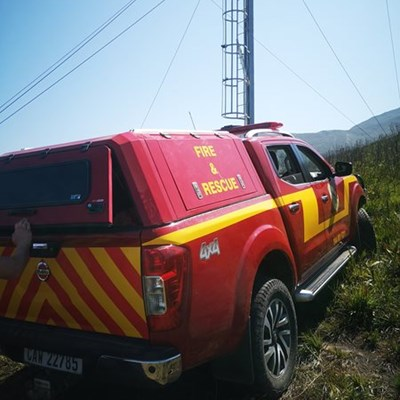 George Fire Brigade assists with mountain rescue