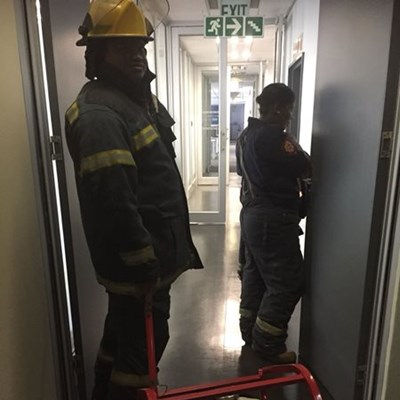 Update: Fire in York Park building
