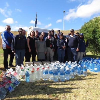 Police serve drought-ravaged Graaff-Reinet
