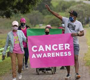 On the move with Cansa Shades of Pink