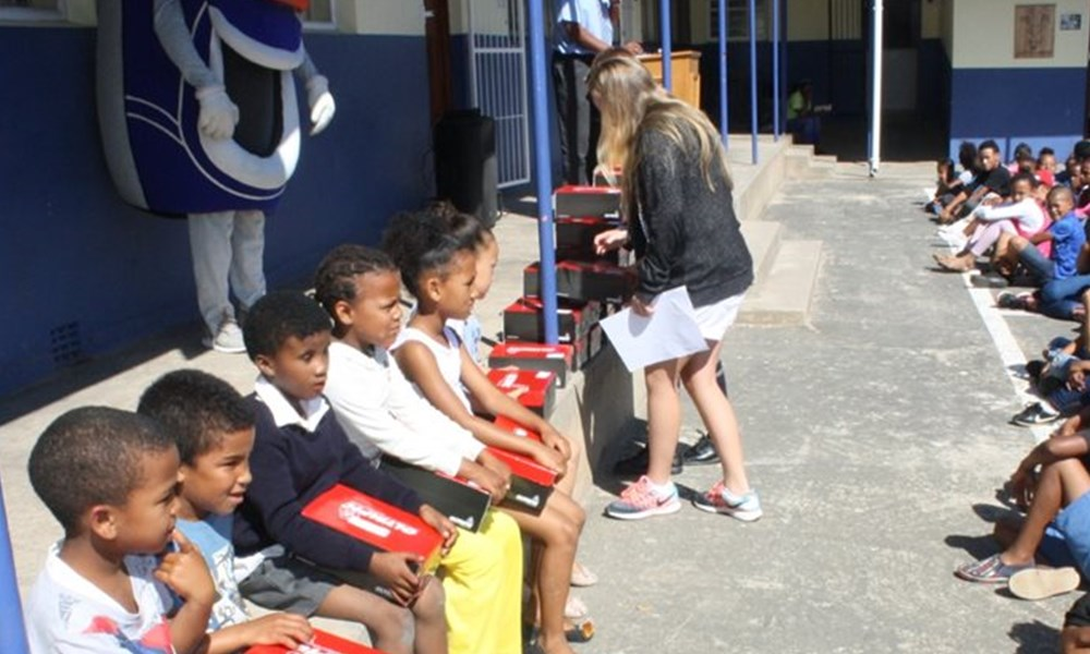 School shoes for needy learners