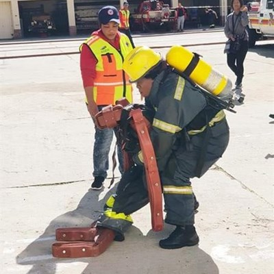 When the going gets tough, Plett firefighers get going