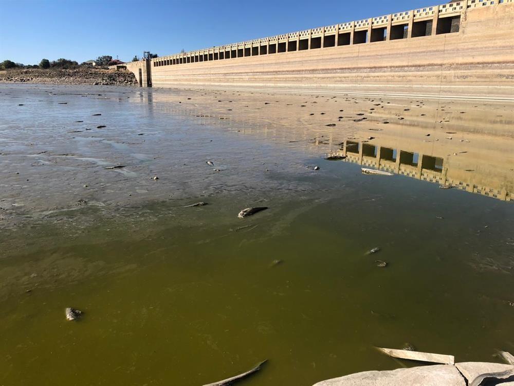 Nqweba Dam in a shocking state
