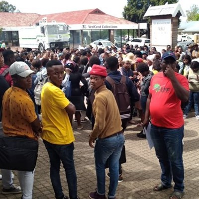 Update: Protest at South Cape College