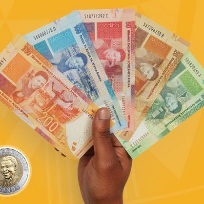 Rand briefly pummelled to below R15 to the dollar