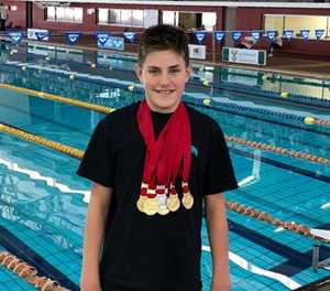 17 medals for Fish Eagles swimmers