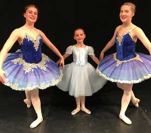 Local ballerinas pirouette to the top