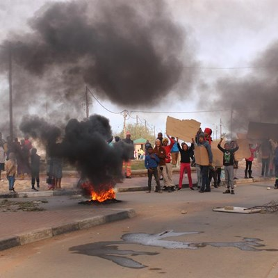 Inwoners se protes werp vrugte af