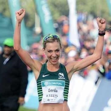 Gerda Steyn shatters SA marathon record