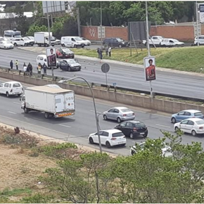M1 north near Jan Smuts closed after shooting