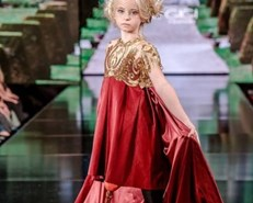 9-year-old double amputee makes Paris fashion catwalk debut