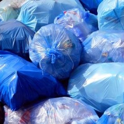 Blue and green bag removal resumes next week