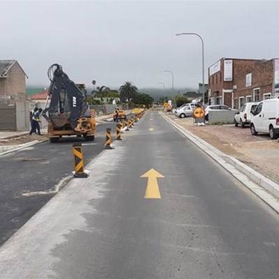 Wellington Street progress and upgrades