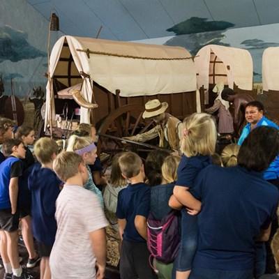 Kinders geniet besoek aan Voortrekkermuseum