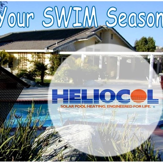 Enjoy the warmth & comfort with HELIOCOL Solar Pool Heating