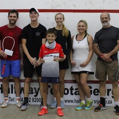 Eden squash champions named