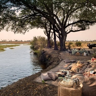 Hot property: Sandibe Okavango Safari Lodge